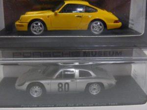 ミニカー 43分の1 スパーク  spark 1-43 ポルシェ カレラ 2000 GS--ボクスター -02
