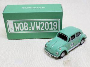 フォルクスワーゲンのスウィートビートル) Volks Wagen Sweet Beetle ミニカー グリーン-01