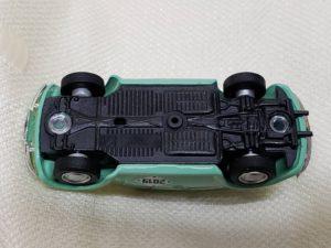 フォルクスワーゲンのスウィートビートル) Volks Wagen Sweet Beetle ミニカー 底面-01