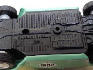 フォルクスワーゲンのスウィートビートル) Volks Wagen Sweet Beetle ミニカー 底面-02