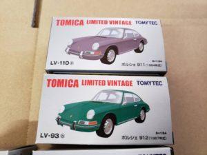 ミニカー  トミカ TLV-93b-110a 1-64 ポルシェ911-912 リミテッド ヴィンテージ他-01