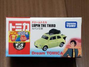 ミニカー ドリーム トミカ ルパン三世 カリオストロの城 2014 フィアット FIAT 500 DREAM TOMICA -01