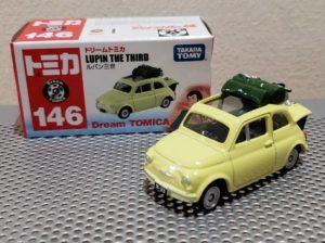 ミニカー ドリーム トミカ ルパン三世 カリオストロの城 フィアット FIAT 500 Dream TOMICA LUPIN THE THIRD TAKARA TOMY モンキーパンチ -01