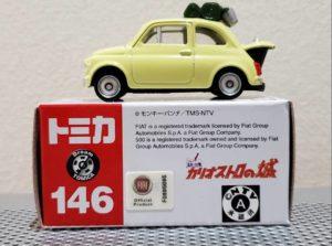 ミニカー ドリーム トミカ ルパン三世 カリオストロの城 フィアット FIAT 500 Dream TOMICA LUPIN THE THIRD TAKARA TOMY モンキーパンチ -02