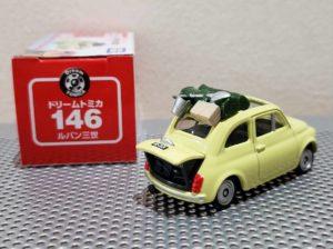 ミニカー ドリーム トミカ ルパン三世 カリオストロの城 フィアット FIAT 500 Dream TOMICA LUPIN THE THIRD TAKARA TOMY モンキーパンチ -03