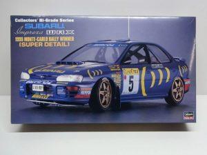 ハセガワ 1/24 スバル インプレッサ WRX 1995年 モンテカルロ ラリー ウィナー コレクターズ ハイグレードシリーズ No.36 SUBARU Impreza MONTE-CARLO Rally Winner SD/スーパーディテール/SuperDetail Collectors' Hi-GradeSeries  CH36 / 51036  --01