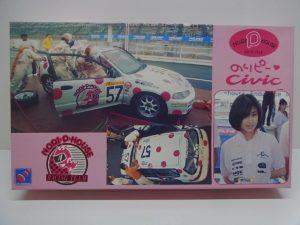 ハセガワ 1/24 のりピー レーシング シビック EG6 CIVIC (HONDA ホンダ) NORI- P- HOUSE RACING TEAM   CQ-3/ 65013 --01