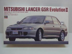 ハセガワ 1/24スケール 三菱 ランサー GSR エボリューションⅡ ( 2) (ランエボ) MITSUBISHI LANCER Evolution 4G63 DOHC TURBO- CD-103 / 24063--01