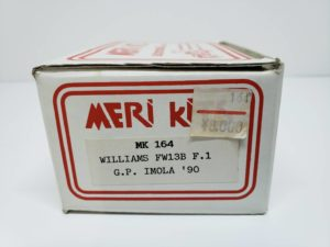 MK164 ウイリアムズ FW13B IMOLA 1990 MERI KITS メリ キット 1/43スケール-01