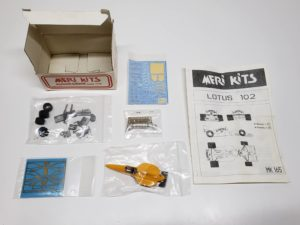 MK165 ロータスLOTUS 102 1990 MERI KITS メリ キット1/43スケール 塗装/組み立て途中品-02
