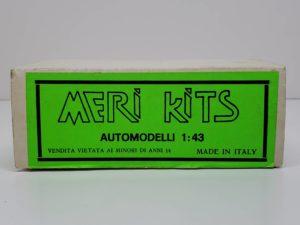 MK48 Ferrari フェラーリ 126C4-M2 1984MERI KITS メリ キット1/43スケール -01