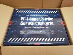 マックスファクトリー MaxFactory PLAMAX MF-25   minimum factory  VF-1 スーパー/ストライク ガウォーク バルキリー  1/20 スケール-02