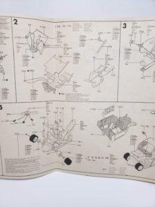 ESCI エッシー 1/24 ランチア ベータ モンテカルロ Gr.5 -説明書-03