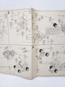 ESCI エッシー 1/24 ランチア ベータ モンテカルロ Gr.5 -説明書-05