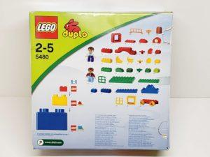 レゴ デュプロ 5480 基本ボックスセット LEGO duploの外箱の側面画像-02