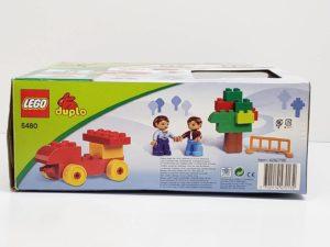 レゴ デュプロ 5480 基本ボックスセット LEGO duploの外箱の側面画像-03