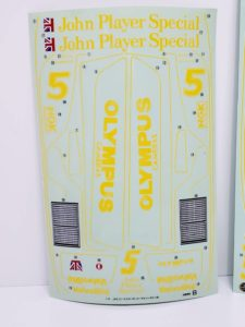 RC ラジコン タミヤ 1/10 JPS ロータス79 競技用スペシャル のシールBの画像-01