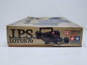 RC ラジコン タミヤ 1/10 JPS ロータス79 競技用スペシャル の外箱の側面画像-01