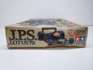 RC ラジコン タミヤ 1/10 JPS ロータス79 競技用スペシャル の外箱の側面画像-03