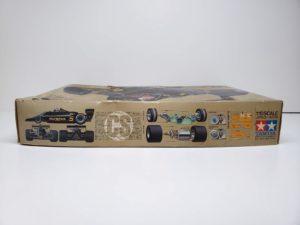 RC ラジコン タミヤ 1/10 JPS ロータス79 競技用スペシャル の外箱の側面画像-04