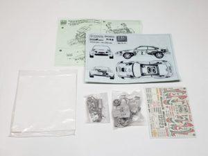 TK 07 トヨタ セリカ ST205 モンテカルロ ラリー(Monte Carlo Rally) Racing43 BIG MODEL 1/24スケールの全体像、展開図01