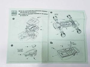 TK 07 トヨタ セリカ ST205 モンテカルロ ラリー(Monte Carlo Rally) Racing43 BIG MODEL 1/24スケールの説明書03