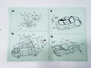 TK 07 トヨタ セリカ ST205 モンテカルロ ラリー(Monte Carlo Rally) Racing43 BIG MODEL 1/24スケールの説明書04