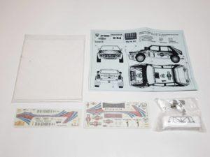 TK 04 ランチア デルタ 1992 サファリ ラリー(Safari Rally) Racing43 BIG MODEL 1/24スケールの全体像、展開図-01
