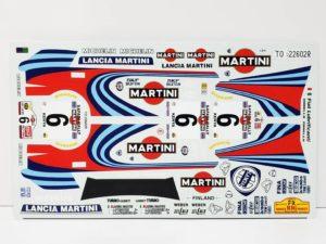 TK 05 ランチア デルタ 1991 サファリ ラリー(Safari Rally) Racing43 BIG MODEL 1/24スケールの付属デカール02