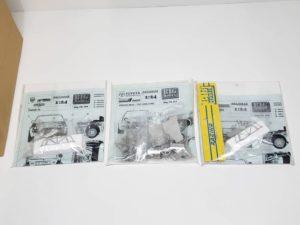 レーシング Racing 43 1/24 BIGmodel  セリカやランチアデルタ ラリー ホワイト メタル他の画像です。-01