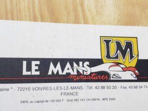 LeMans 1/24 Mazda 787B レジンキット マツダ ルマンの木製収納箱-パッケージ-01