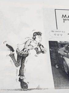 LeMans 1/24 Mazda 787B レジンキット マツダ ルマンの説明書内のイラスト拡大撮影-03