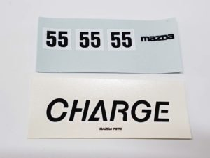 LeMans 1/24 Mazda 787B レジンキット マツダ ルマンのデカール-03