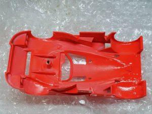 LeMans 1/24 Mazda 787B レジンキット マツダ ルマンのメインボディパーツの撮影-08