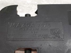 LeMans 1/24 Mazda 787B レジンキット マツダ ルマンのメインシャシーツの撮影-03