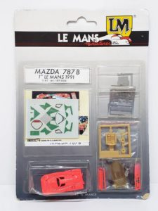 LeMans 1/87 Mazda 787B レジンキット マツダ ルマンの撮影記録-01