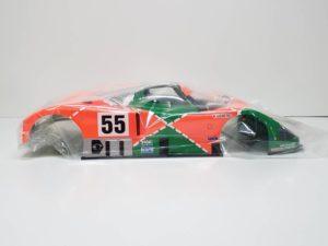 FINISHED BODY Ver. 電動 RC レナウン・チャージ・マツダ 787B 1991年 ル・マン 優勝車 #55 タミヤ 1/10スケール 塗装、マーキング済みのボディパーツ-03です。