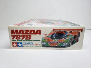 電動 RC レナウン・チャージ・マツダ 787B 1991年 ル・マン 優勝車 #55 タミヤ 1/10スケールの外箱-側面-01