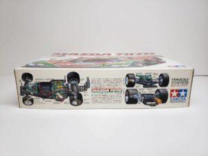 電動 RC レナウン・チャージ・マツダ 787B 1991年 ル・マン 優勝車 #55 タミヤ 1/10スケールの外箱-側面-03