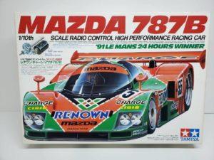 電動 RC レナウン・チャージ・マツダ 787B 1991年 ル・マン 優勝車 #55 タミヤ 1/10スケールの外箱-01