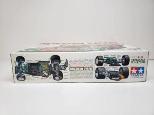 FINISHED BODY Ver. 電動 RC レナウン・チャージ・マツダ 787B 1991年 ル・マン 優勝車 #55 タミヤ 1/10スケールの外箱の側面-03です。
