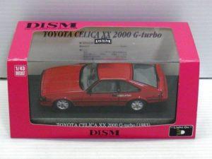 1-43 DISM トヨタ セリカXX 後期型 2000G ターボ レッド -01
