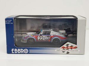 ミニカー エブロ 1/43 EBBRO 536 ポルシェ 911 RSR 1974 LM他-01