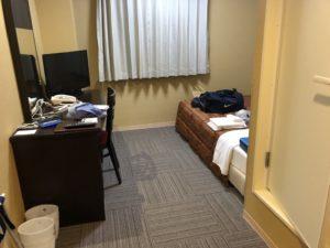 明日の為にホテルでしっかり睡眠を