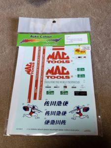 MAC Tools マックツール、佐川急便 デカール-01