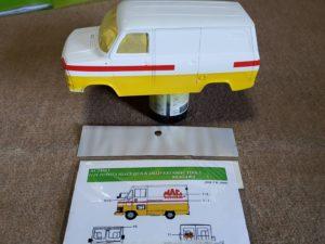 イタレリ 1/24 フォード トランジット マーク2- (No.3687 1:24 ITALERI Ford Transit MK2--01