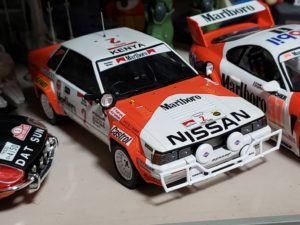マルボロ仕様のスープラとシルビア ラリーの模型完成-02