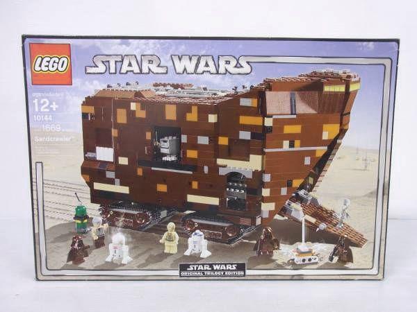 LEGO レゴ スターウォーズ 10144 サンドクローラー/ 7671 AT,AP