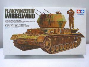 タミヤ 1-35 Ⅳ号対空 ヴィルベルヴィント 4連高射砲38型 -01_rt