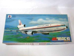 プラモデル 旅客機 絶版 NITTO ニットー 1-100スケール 日東科学 日航 JAL DC-10 -001 の買取価格表ページへ